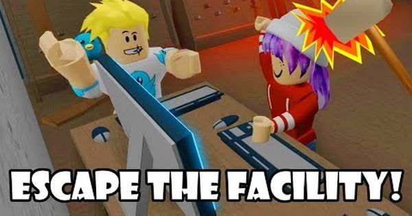 Hack The Computer Fear The Beast In Roblox Escape The Facility