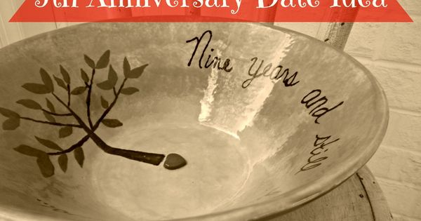 9th Year Wedding Anniversary Gifts: Pottery (idea For Anniversary Date Night