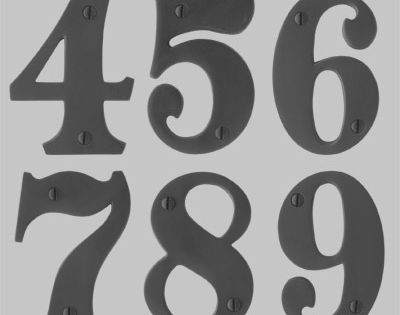 Numbers font forum house number font floral for Classic house number fonts