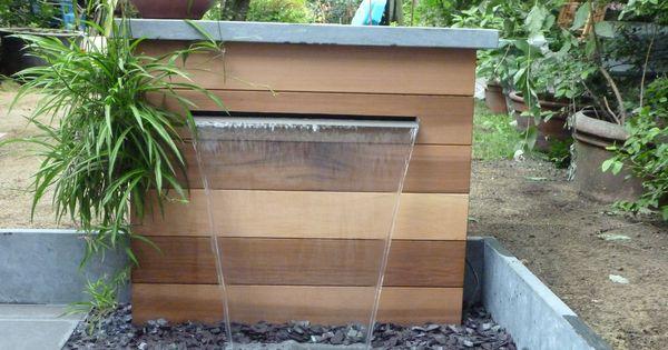 Un petit point d 39 eau sur une terrasse http www for Amenagement exterieur jardin avant apres