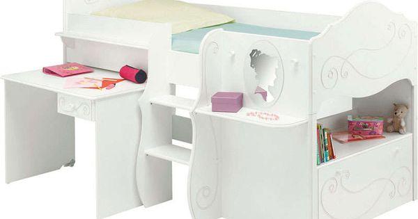 Lit enfant conforama achat pas cher lit combin mi - Machine a laver sechante conforama ...