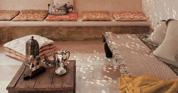 Imagen ideas para mi casita pinterest decoraci n - Decoracion arabe interiores ...