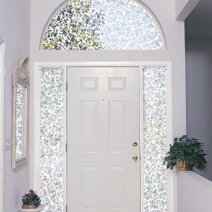 Semi Circle Window Coverings Front Doors With Windows Window Film Privacy Decorative Window Film