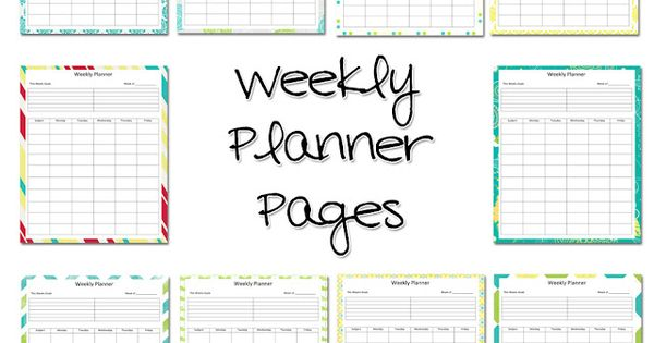 Lawteedah Weekly Lesson Planner Might Have To Take A
