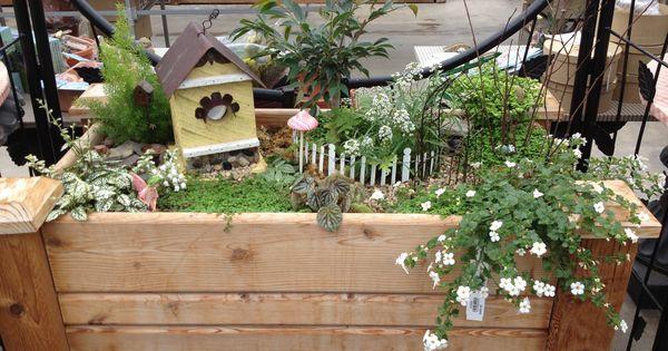 Fairy Garden At Platt Hill Nursery Fairy Garden Pinterest Fairies Garden Nurseries And