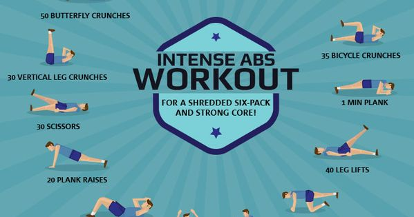 Crush your next ab workout with these intense moves!! www.fitnessrepubl...
