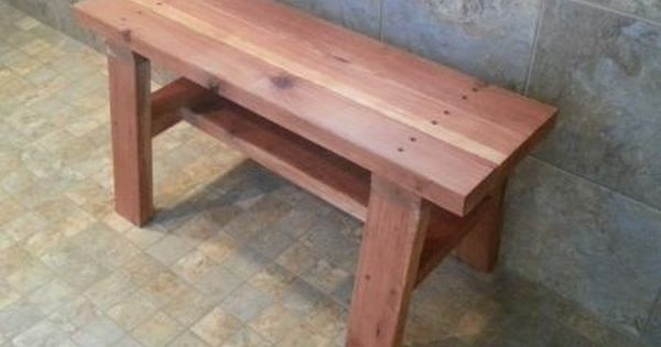 Pin By Ana White On Bathroom Tutorials Wood Shower Bench Shower Bench Bathroom Bench