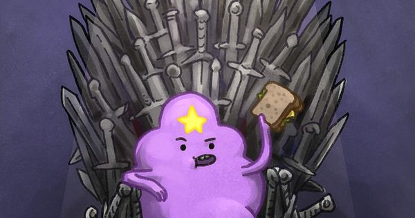 Oh my glob yes! Lumpy Space Princess first of her name of