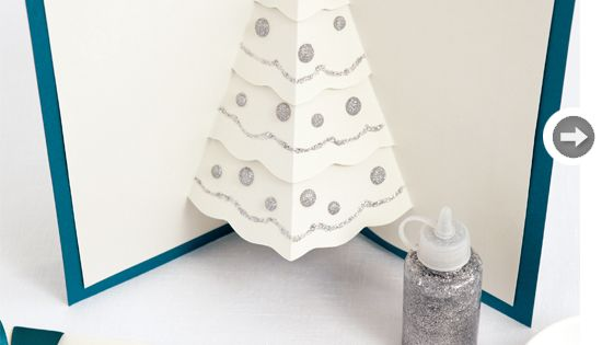 DIY cards: O Christmas tree! For next year, since this year I'm