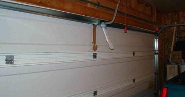 Garage Door Opener Ripped From Door Gd019sm Jpg Garage Door Opener Installation Diy Garage Door Motorcycle Garage Door Opener