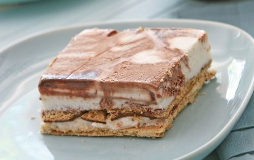 smores pie ice cream pie