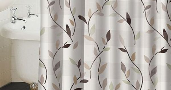 Famous Home Fashions Shadow Leaf Shower Curtain At Kohls 32 49 On