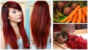 tratamientos caseros para el cabello teñido de rojo