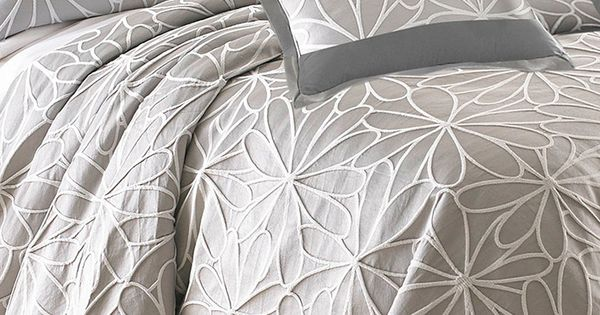 Taupe jacquard kate comforter set need a new bed set this could be it home pinterest - What you need to know about jacquard bedding ...