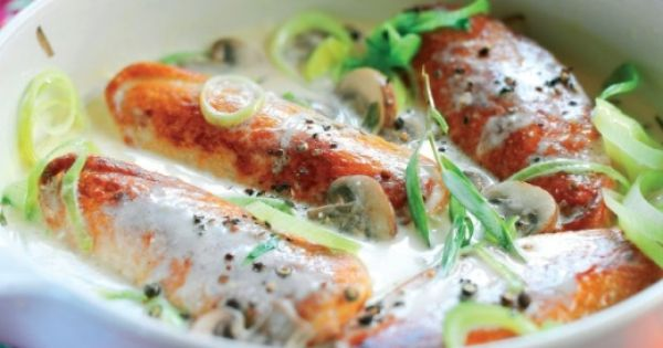 Tarragon Quorn Fillets in Vermouth Recipe | Chicken | Pinterest ...