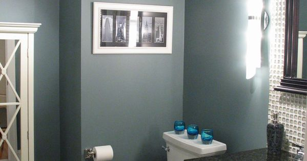 Benjamin Moore, smokestack grey, bedroom color or bathroom color!