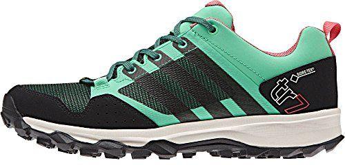 adidas Outdoor Womens Kanadia 7 Trail GTX Trail Running Shoe Green ...