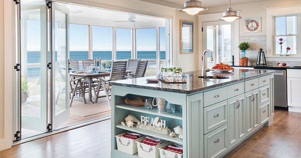 House of turquoise caldwell and johnson beach coastal for Caldwell kitchen cabinets