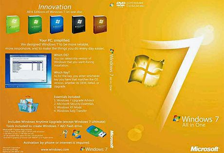 Windows 7 All In One Activated Iso 32 64 Bit Free Download Latest