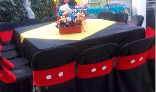 Mickey Mouse Birthday Party Ideas Chair Covers Mickey