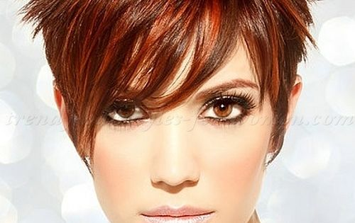 short hairstyles 2015, short haircut - short spiky hair for women love