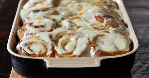 Sticky Lemon Rolls With Lemon Cream Cheese Glaze. I wasn't sure I