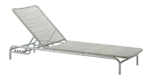 ikea enholmen chaise light gray article number hand woven plastic rattan. Black Bedroom Furniture Sets. Home Design Ideas