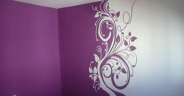 Plantillas y o pegatinas para el salon ayuda soy nueva d - Plantillas para decorar paredes ...