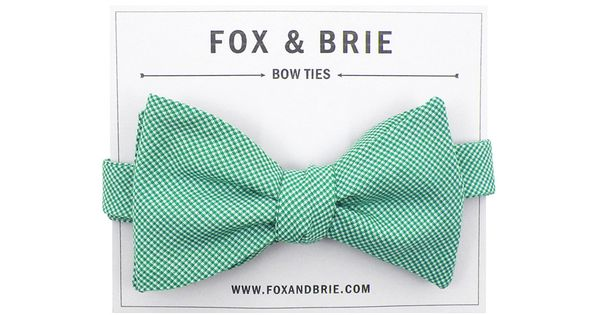 Any dapper gentleman would love to receive one of these bow ties. #CamilleStyles