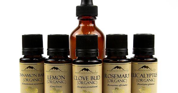 Mountain Rose Herb's version of thievesoil blend