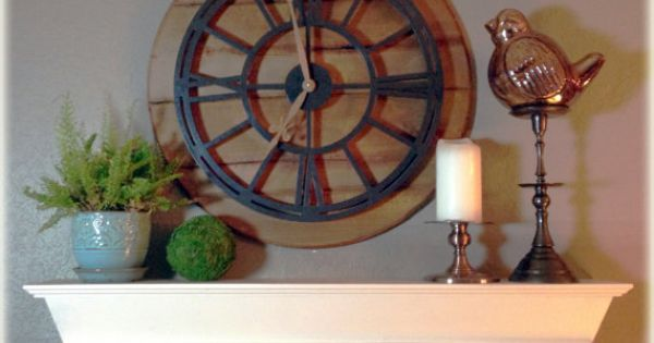French Country Cream Faux Mantle Shelf Wall By Downrightcreative Home Decor Pinterest Faux