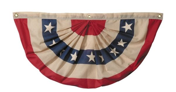 """Kitchen curtains from bunting? Awesome for our """"Early ..."""