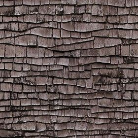 Textures Texture Seamless Old Wood Shingle Roof Texture Seamless
