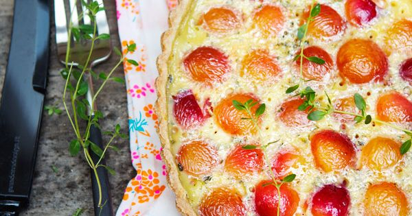 gluten free cherry tart recipe ( a favourite repin of www.glutenfreedesserts.info -