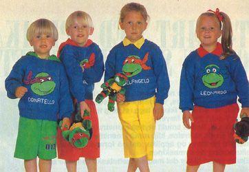 Strik Turtles Bluser Kids Sweater Ninja Turtles Turtle