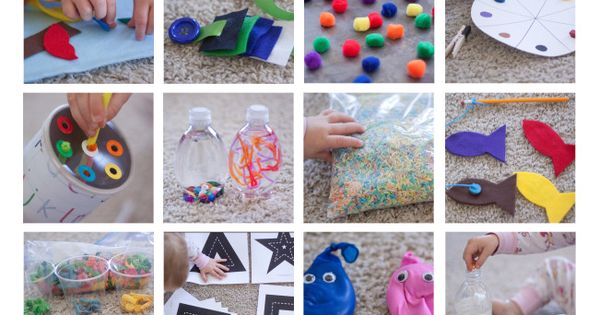 Toddler Busy Bags - some good toddler ideas