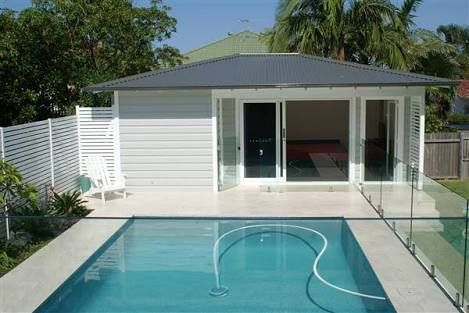 Image Result For Small Backyard Pools Australia Pool Houses Small Backyard Pools Pool Cabana