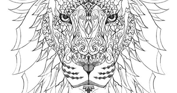 Raja of the Jungle by BioWorkZ, via Behance lion