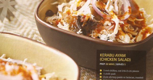 kerabu ayam (chicken salad) | Kerabu | Pinterest | Chicken Salads ...