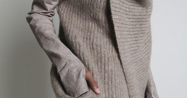 ALESSANDRA MARCHI -- knit vest