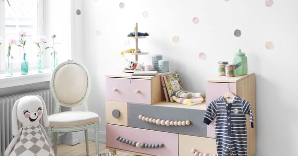 ikea ps 2014 mit grau und rosa f r ein m dchen kinderzimmer so traumhaft kinderzimmer f r. Black Bedroom Furniture Sets. Home Design Ideas