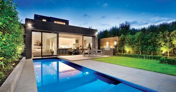 Small Lot Pool Designs | narrow pool designs sampledesign07 narrow ...