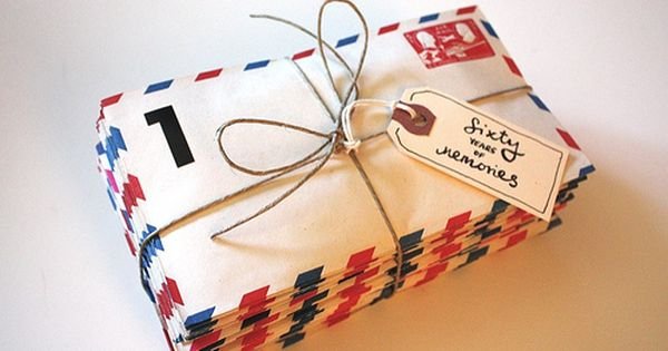 Sixty years of memories - milestone birthday idea