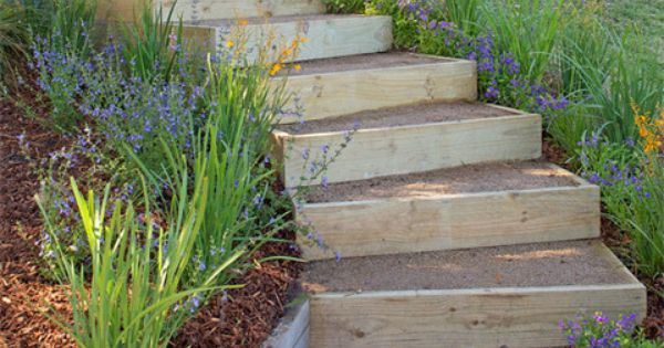 How to build outdoor stairs better homes and gardens Yahoo better homes and gardens