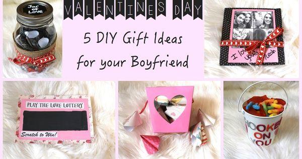 5 Diy Gift Ideas For Your Boyfriend Valentine 39 S Day