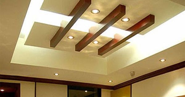 Wood Beams On Dropped Down Ceilng Ceilings Pinterest