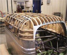 1937 Ford Truck Cab Heavily Modified Metal Shaping Sheet Metal Custom Metal Fabrication