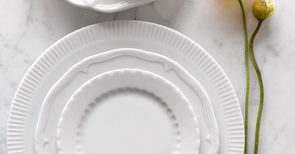 Mix And Match Pillivuyt Eclectique Dinnerware Modern