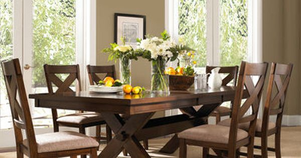 Grand Marquis Ii 7 Pc Dining Set Jcpenney Wooden Dining Table Set Solid Wood Dining Set Dining Table