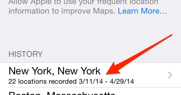 disable iphone 5 location tracking